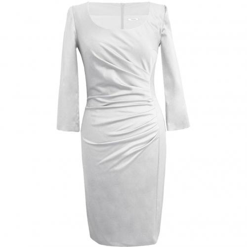 Fashionart Cocktailkleid / festliches Kleid weiss mit Ärmeln
