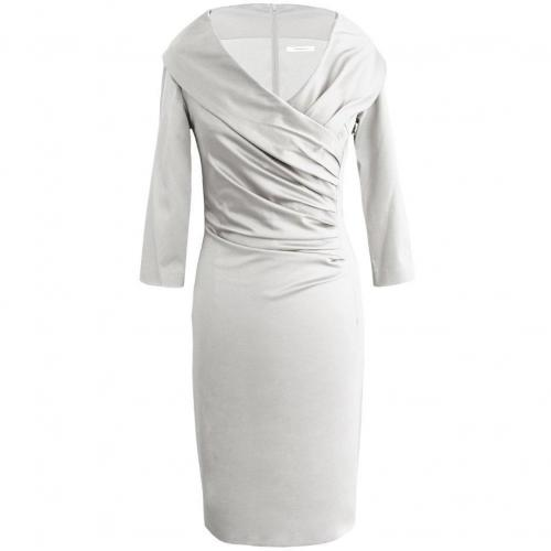 Fashionart festliches Kleid weiß mit Ärmeln