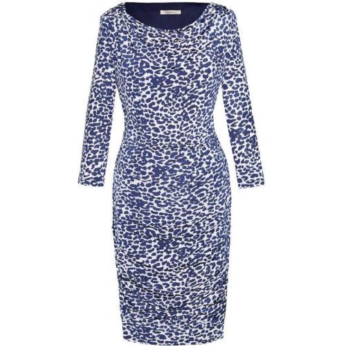 Fashionart Jerseykleid beige/blau