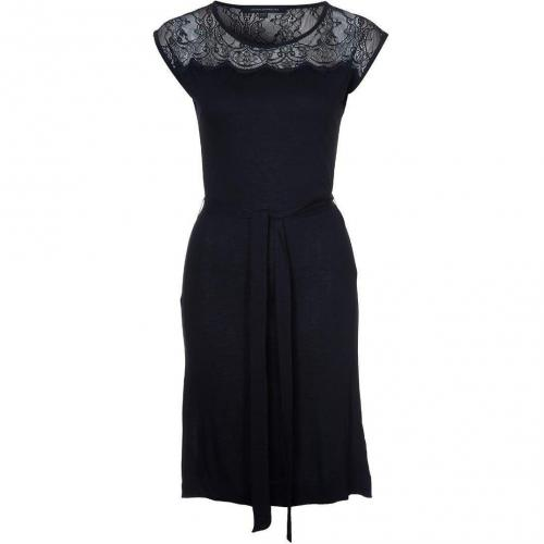 French Connection Lena Jerseykleid black