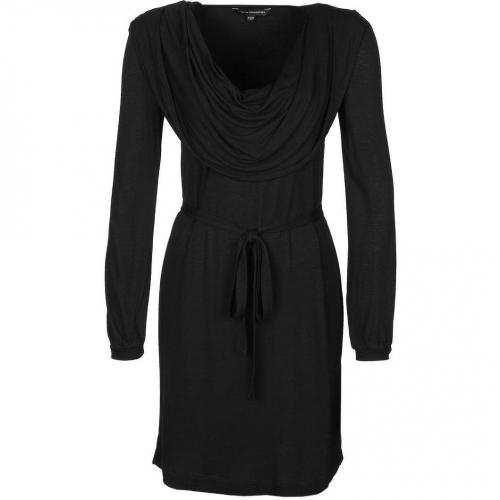 French Connection Winter Meadow Jerseykleid black