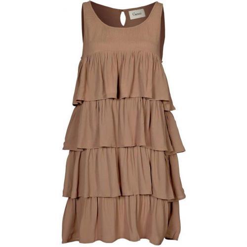 Ganni Charlston Dress Jerseykleid woodsmoke
