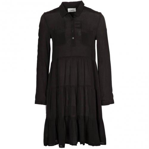 Ganni Jerseykleid black