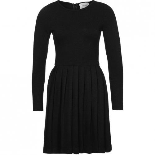 Ganni Miss Marple Jerseykleid black