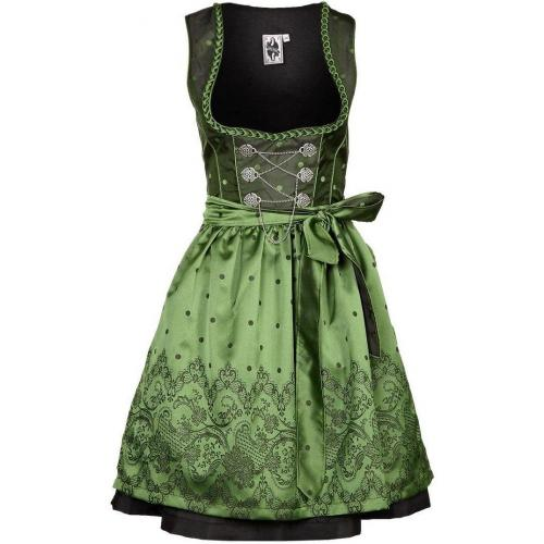 German Princess Cocktailkleid / festliches Kleid green