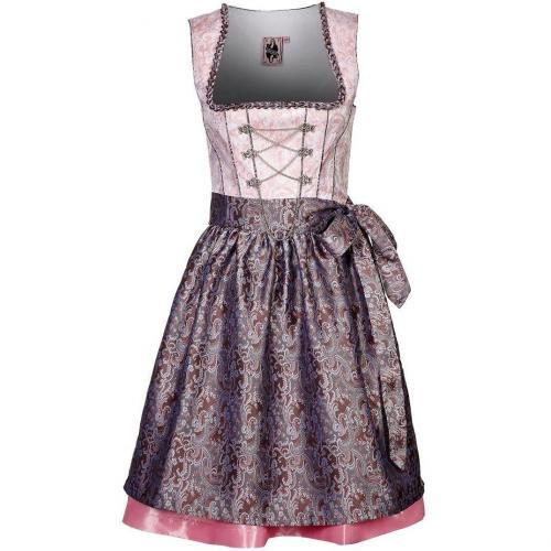 German Princess Cocktailkleid / festliches Kleid rosesilber