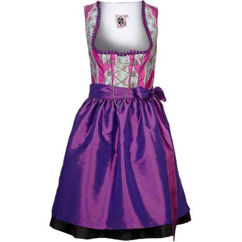 German Princess Schneewittchen Cocktailkleid / festliches Kleid lila