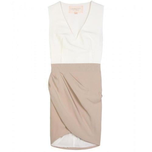 Valli Two-Tone Kleid