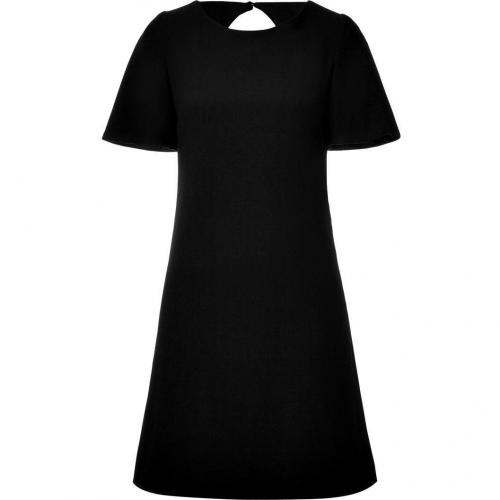 Goat Black A-Line Sheath Dress