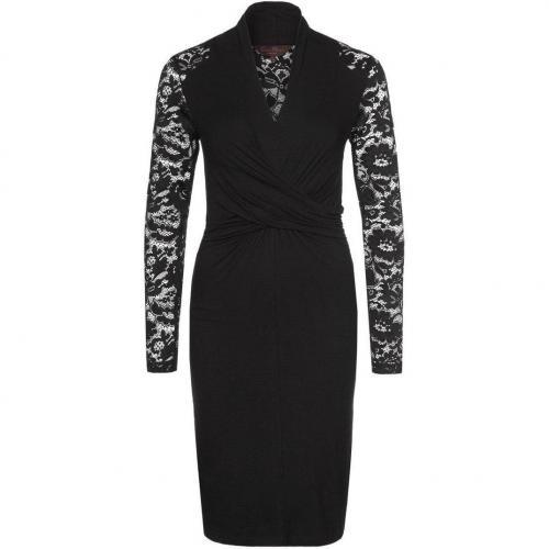 Great Plains Jerseykleid black mit Ärmeln