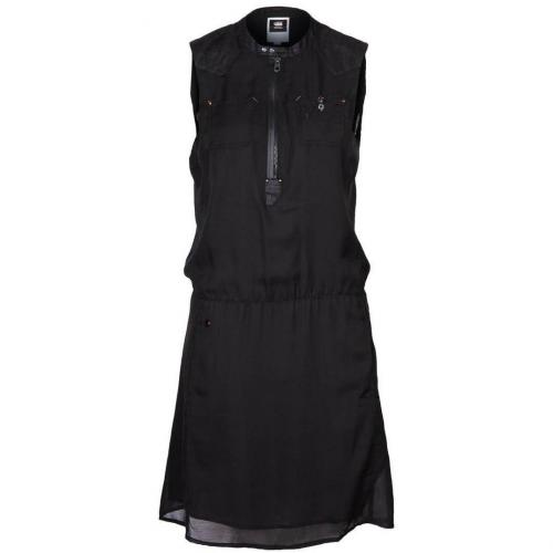 GStar Blusenkleid black ohne Ärmel