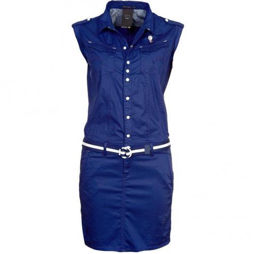 GStar Nikki Blusenkleid ballpen blue