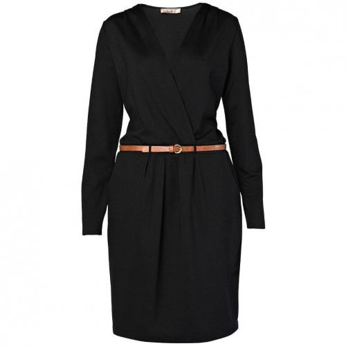 Hallhuber Jerseykleid schwarz