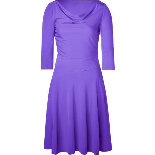 Halston Heritage Purple Swing Kleid