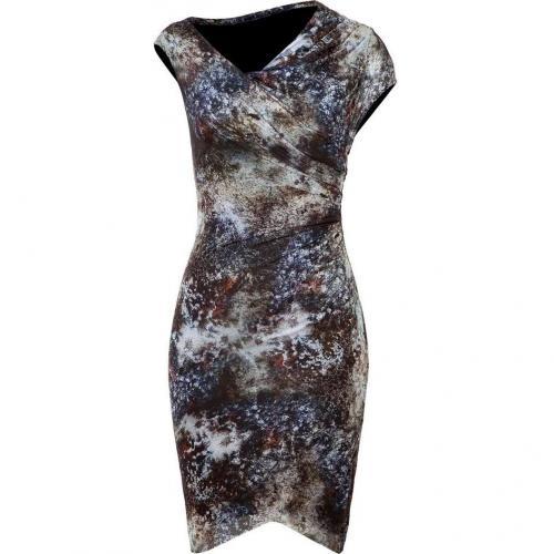 Helmut Lang Bruise-Multi Printed Jersey Dress