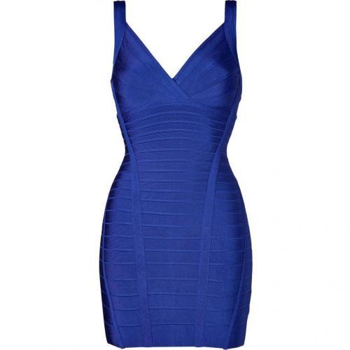 Hervé Léger Ultramarine Bandage Dress