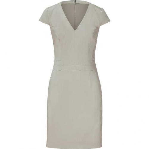 Hugo Light Beige Cap Sleeve Dress Kirilla