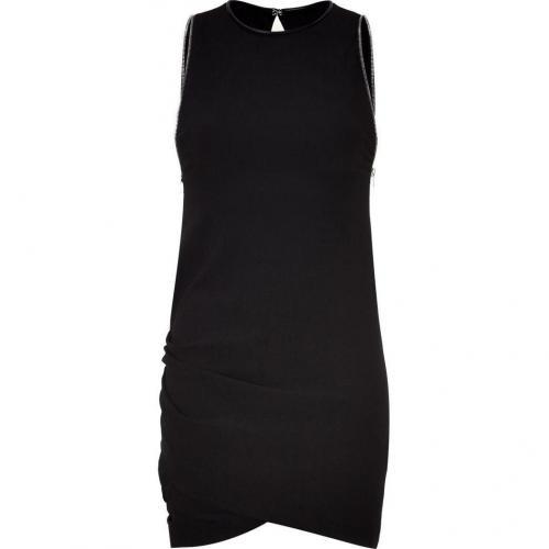 Iro Black Iselina Dress with Side Zip