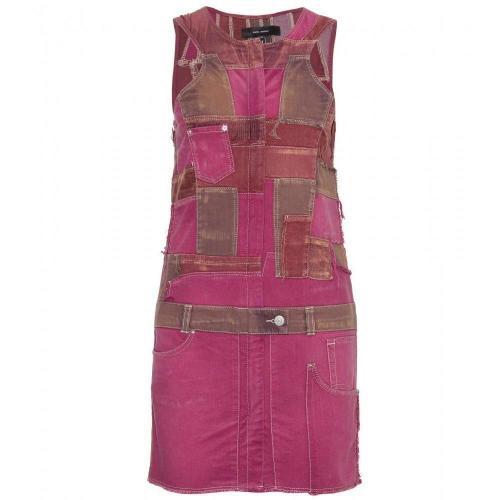 Isabel Marant Obi Patchwork-Kleid