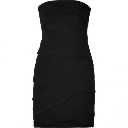 Jay Ahr Black Pleated Dress