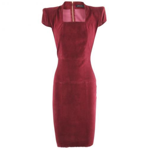 Jitrois Raspberry Velours Dress Gattaca