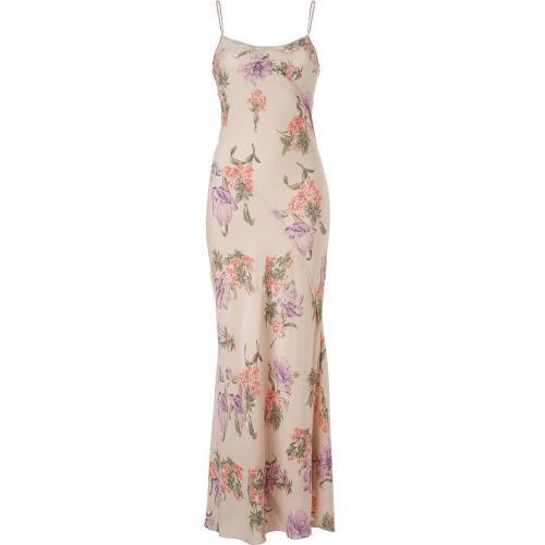 Joseph Blush Hand Paint Floral Dress