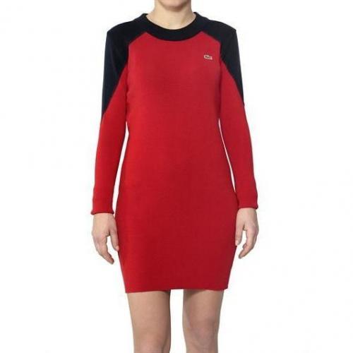 Lacoste New York Zweiton Jersey Sweater Kleid