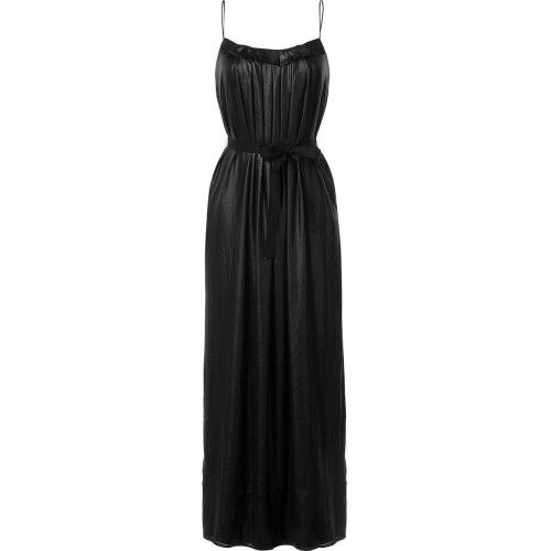 LAgence Black Long Tank Dress