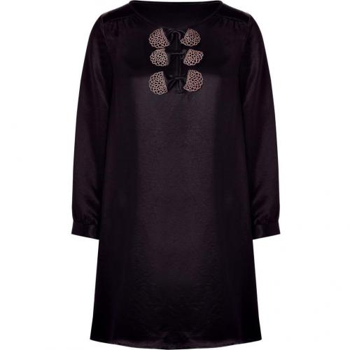 Marc by Marc Jacobs Black Satin Dress