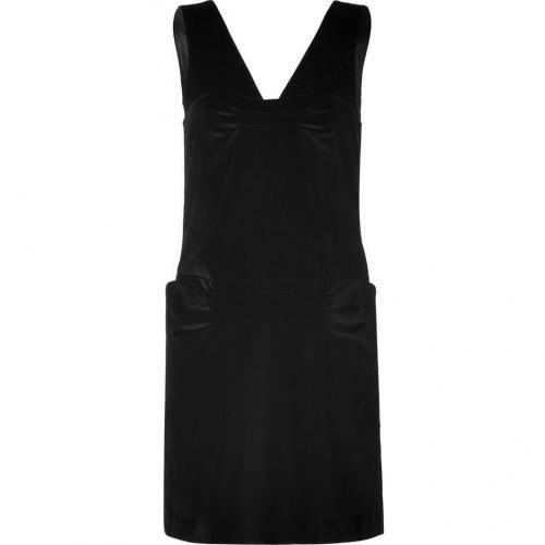 Marc by Marc Jacobs Black Velvet Galya Dress