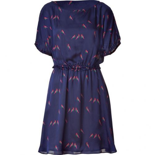 Marc by Marc Jacobs Blue Multicolor Finch Charm Dress