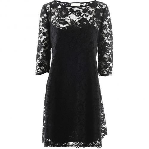 Marchesa Notte Black Lace Dress Mary