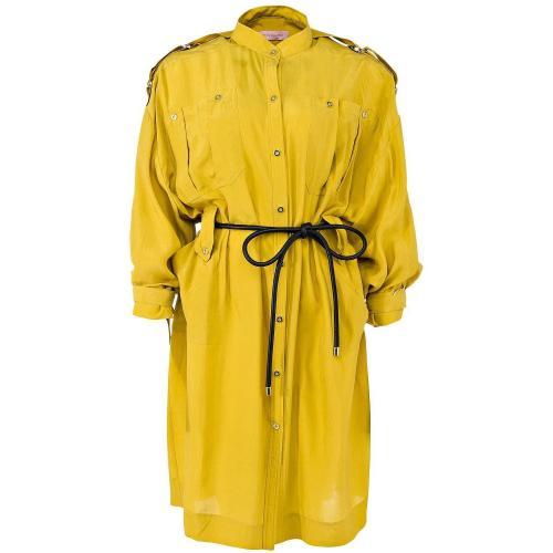 Matthew Williamson Hemdblusenkleid Mustard