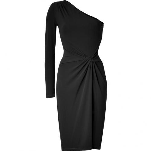 michael kors black one shoulder dress my designer kleid. Black Bedroom Furniture Sets. Home Design Ideas