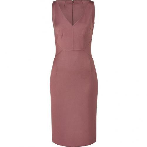 Michael Kors Mauve Silk/Cotton Stretch Dress