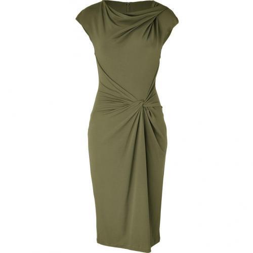 Michael Kors Olive Knot Front Dress