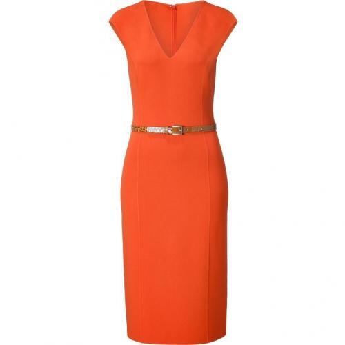 Michael Kors Sienna Belted Sheath Dress