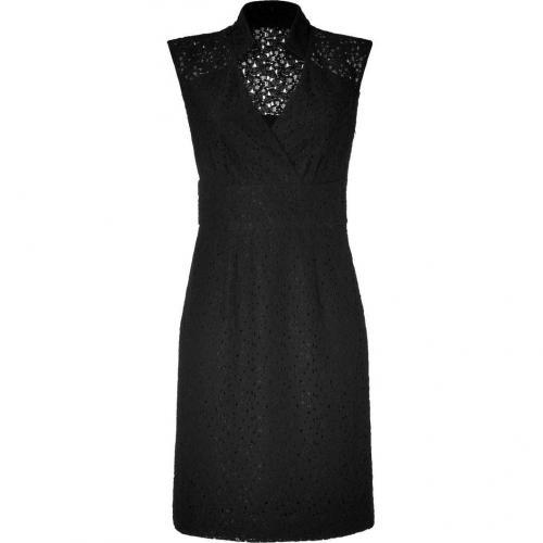 Milly Black Lace Sheath Dress