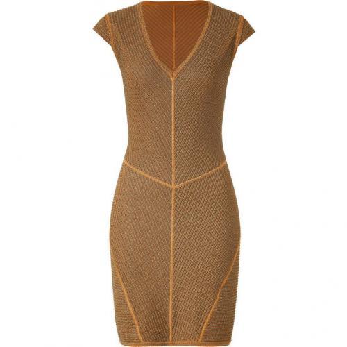 Missoni Caramel/Sepia Lurex Dress
