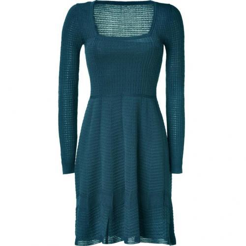 Missoni M Pigeon Square Neck Knit-Dress