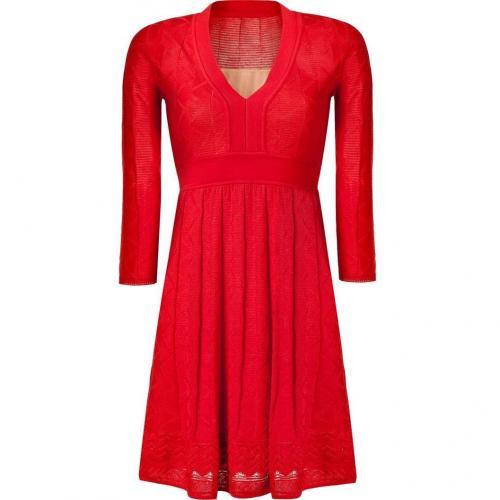 Missoni M Tomato Wool-Blend Knit Dress