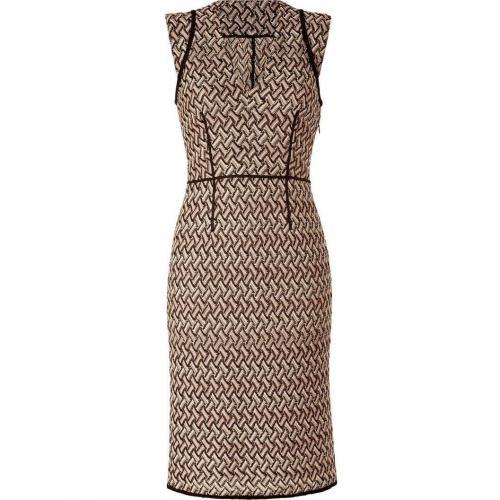 Missoni Opal/Black Patterned Knit-Dress