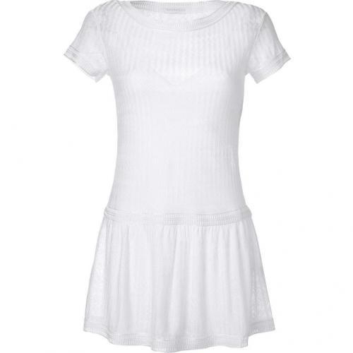Missoni White Knitted Mini-Dress