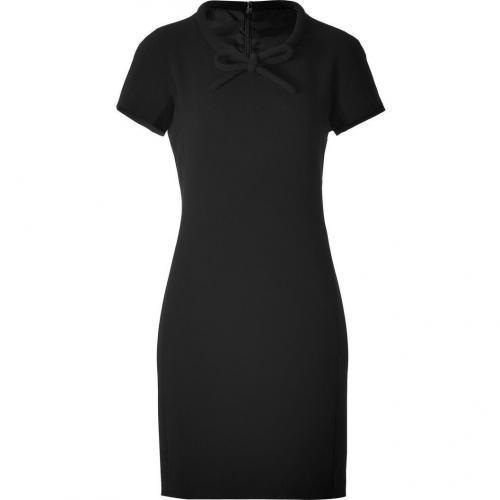 Moschino C&C Black Tie Neck Dress