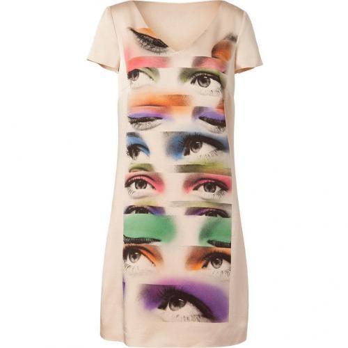 Moschino C&C Nude Foto Print Dress