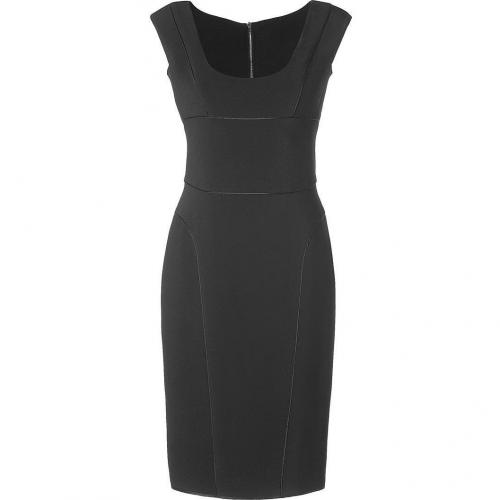 Narciso Rodriguez Black Double-Zip Pencil Dress