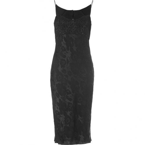 Narciso Rodriguez Black Silk Dress