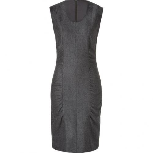 Narciso Rodriguez Grey Back Zip Wool Dress