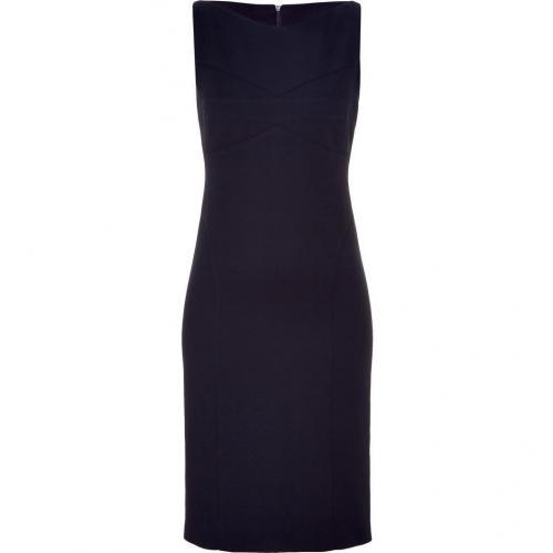Narciso Rodriguez Navy Sleeveless Sheath Dress
