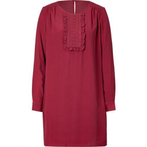 Paul & Joe Sister Bordeaux Crepe Antonela Dress